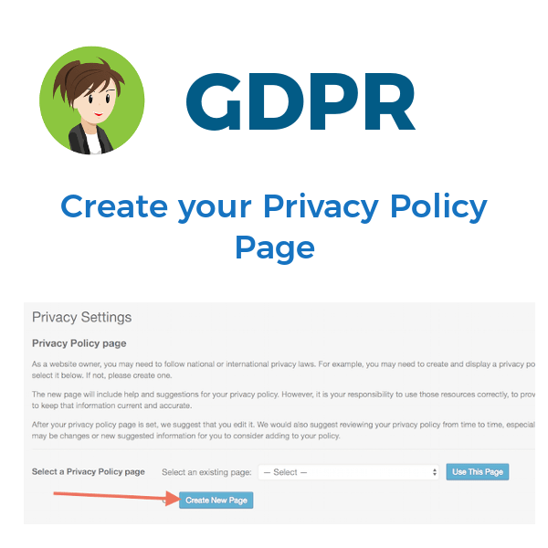 GDPR: Adding a privacy policy to your website