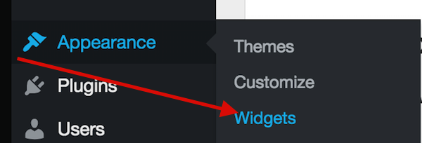 Widgets section