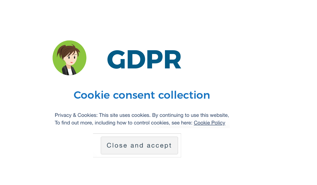 GDPR: Adding a cookie consent banner to your website