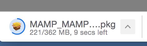 downloading MAMP