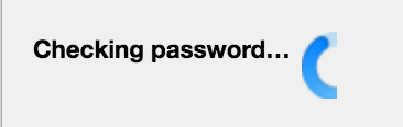 Thunderbird Checking Password