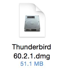 Thunderbird DMG