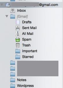 Thunderbird Gmail Account