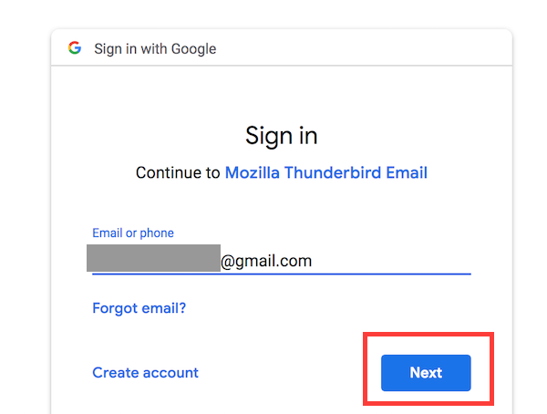Import emails from Thunderbird to your Gmail account