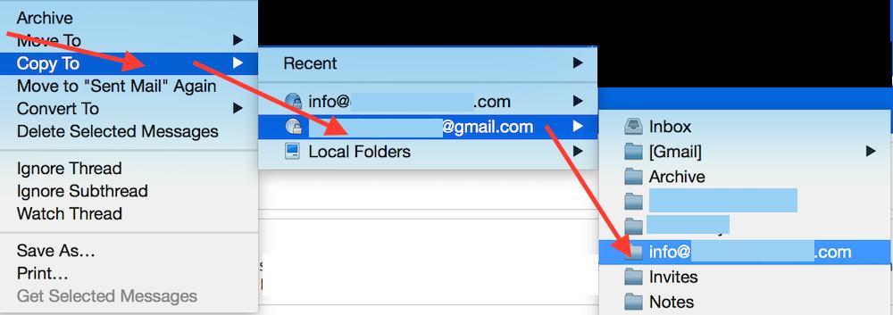 Thunderbird Upload Inbox to Gmail