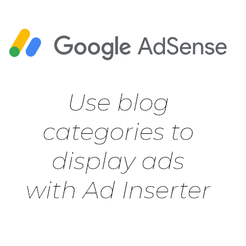 Ad Inserter – Display Ad on a Post Category