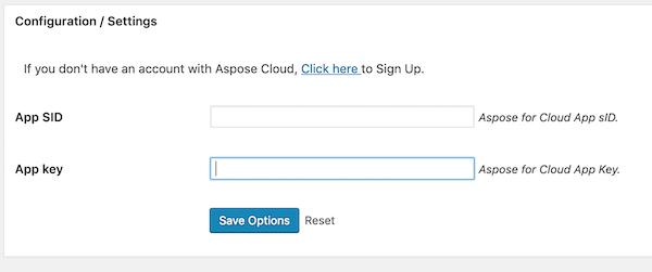 Aspose Sign Up