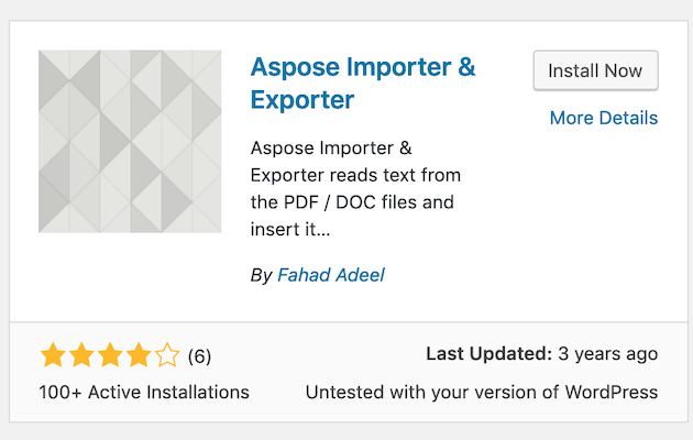 Aspose PDF Exporter  and Aspose Doc Exporter Plugins