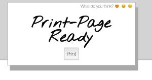 Print My Blog Print Page Ready
